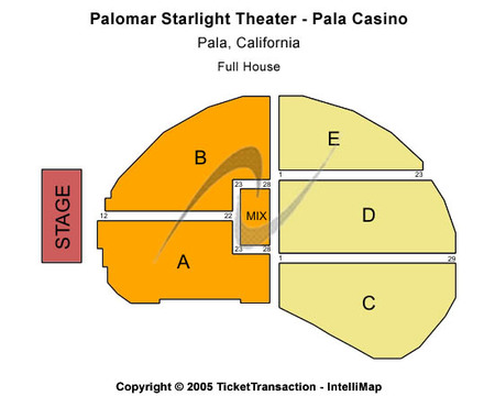 Pala Casino - Palomar Starlight Theater