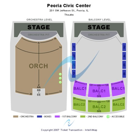 Peoria Civic Center - Arena
