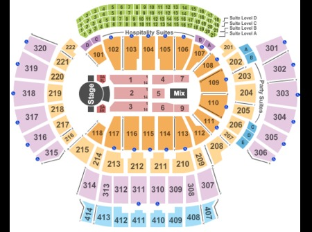 Philips arena adele concert seating chart elcho table