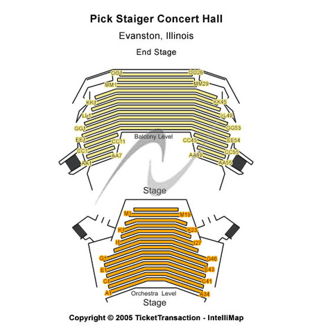 Pick Staiger Concert Hall