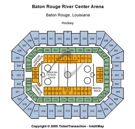 Baton Rouge River Center Arena