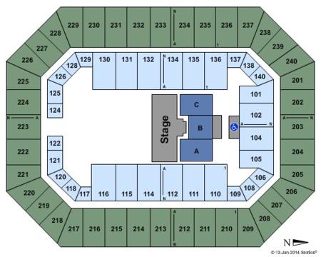 Baton Rouge River Center Arena