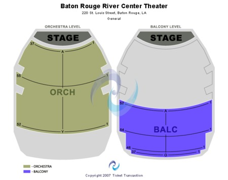 Raising Cane S River Center Theatre Tickets Raising Cane S River Center Theatre In Baton Rouge La At Gamestub