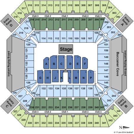 Raymond James Stadium Tickets Raymond James Stadium In Tampa Fl