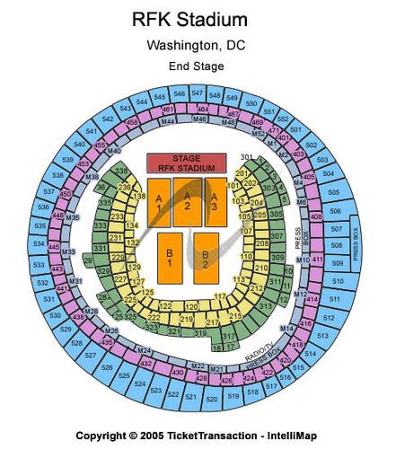 Rfk Stadium Tickets Rfk Stadium In Washington Dc At Gamestub