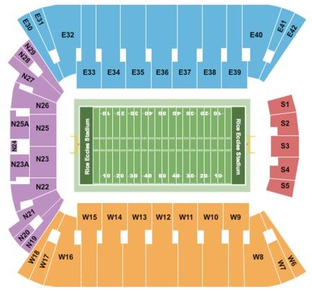 Rice Eccles Stadium Map Rice Eccles Stadium Tickets   Rice Eccles Stadium in Salt Lake