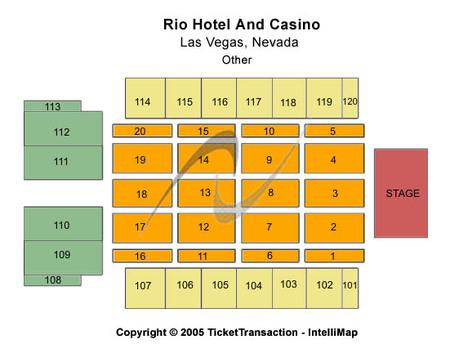 Rio All Suite Hotel & Casino - Brasilia Hall