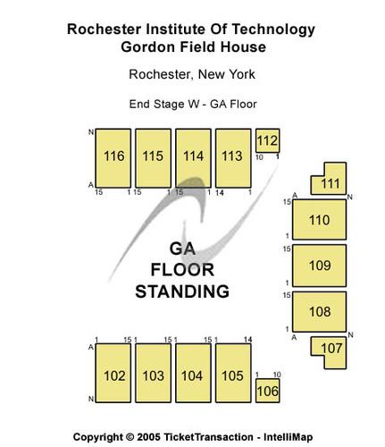 Rochester Institute Of Technology - Gordon Field House