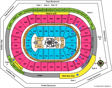 Rogers Arena Gate Map Rogers Arena Tickets   Rogers Arena in Vancouver, BC at GameStub!
