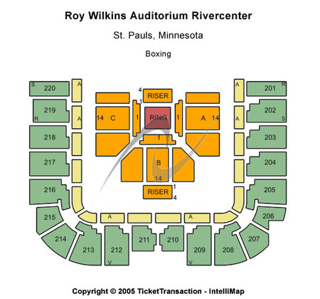 Roy Wilkins Auditorium At Rivercentre