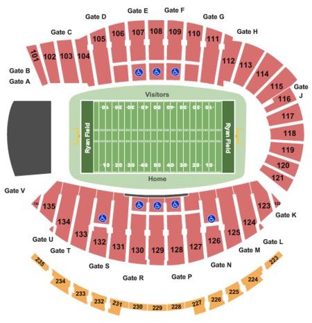 Wvu Football Stadium Seating Map