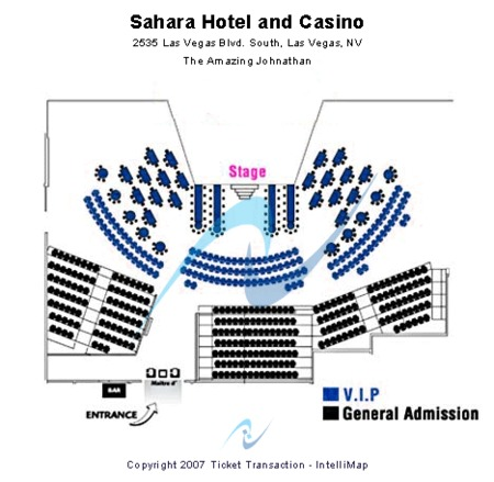 Sahara Theater - Sahara Hotel & Casino
