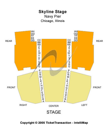 Skyline Stage At Navy Pier