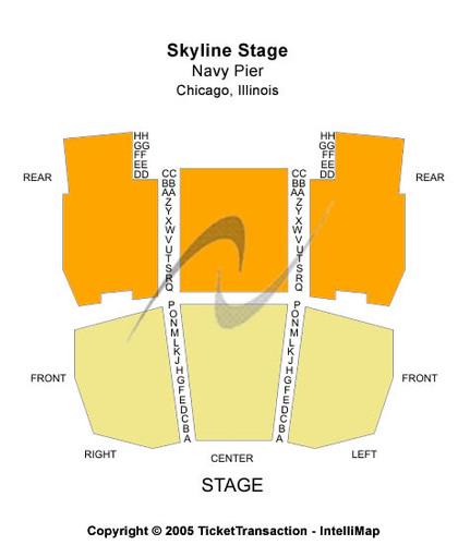 Skyline Stage At Navy Pier