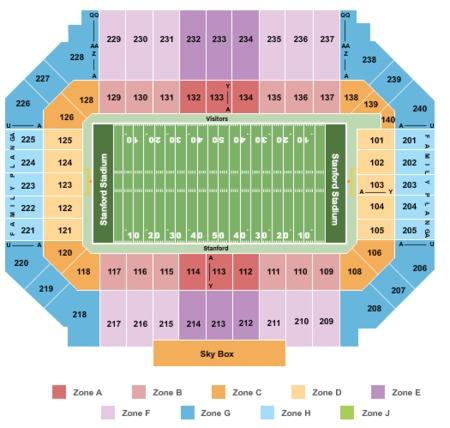 Stanford Stadium Tickets Stanford Stadium In Stanford