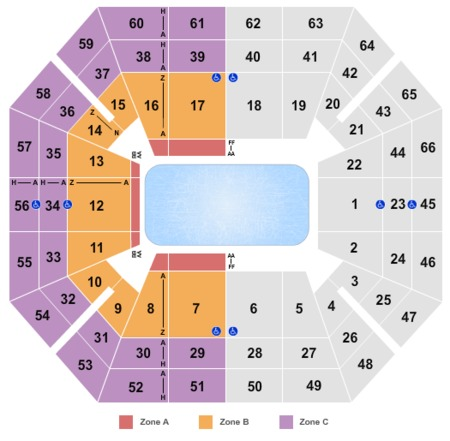 Taco Bell Arena Tickets Taco Bell Arena In Boise Id At