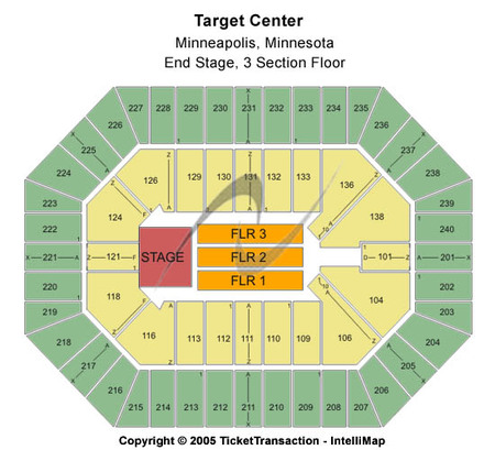 target field seating chart 2011. Seating Chart target field
