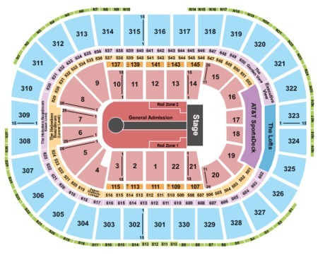 u2 tickets section clb143 row d td garden in boston on fri jun - Td Garden Map