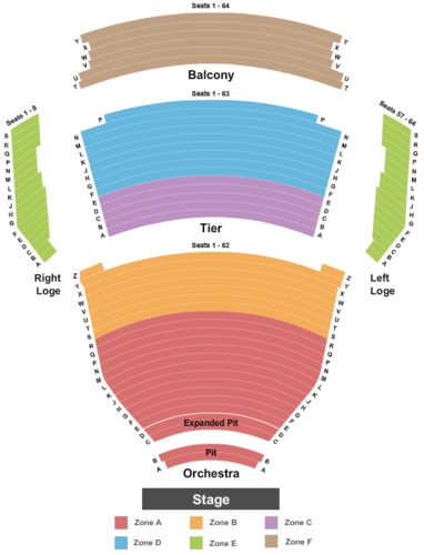 Tennessee Performing Arts Center - Andrew Jackson Hall