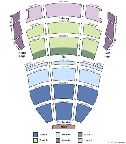 Tennessee Performing Arts Center - Andrew Johnson Theater