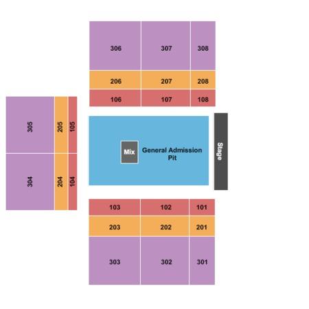 Winstar Colosseum Seating Chart Winstar Casino Seating Chart