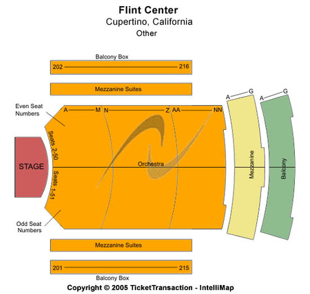 The Flint Center for the Performing Arts