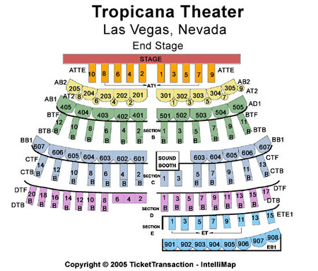 Tropicana Showroom At Tropicana Hotel & Casino