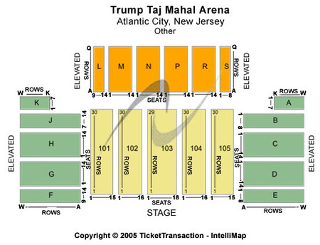 Trump Taj Mahal - Mark G. Etess Arena