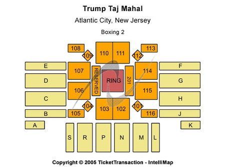 Trump Taj Mahal - Xanadu Showroom