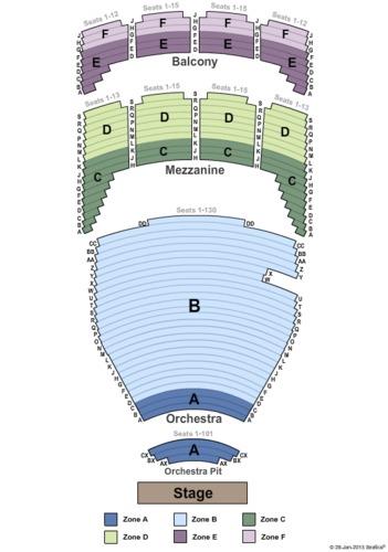 Tulsa Performing Arts Center - Chapman Music Hall