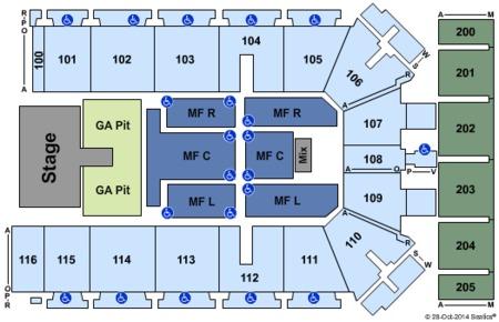 Tyson Events Center - Gateway Arena