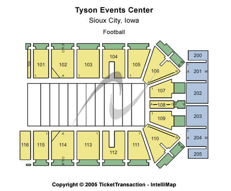 Tyson Events Center - Gateway Arena