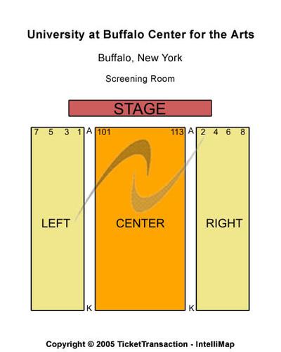 University At Buffalo Center For The Arts