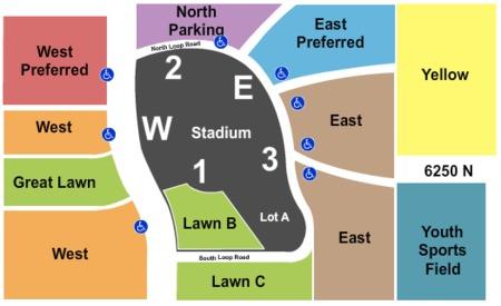 University Of Phoenix Stadium Parking Lots