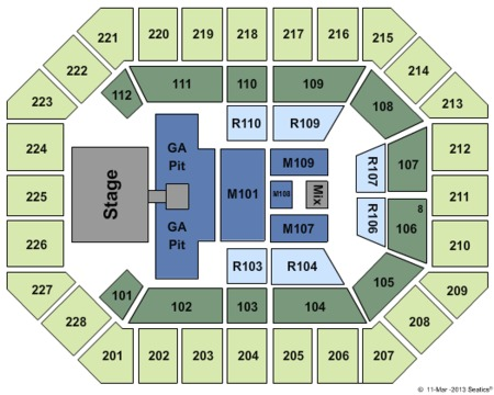 US Cellular Center Asheville Seating Chart US Cellular US - Us cellular center seat map