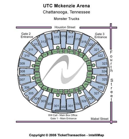 UTC Mckenzie Arena