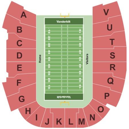 Vanderbilt stadium tickets vanderbilt stadium in nashville tn at