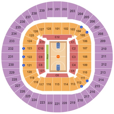 West Virginia University Coliseum