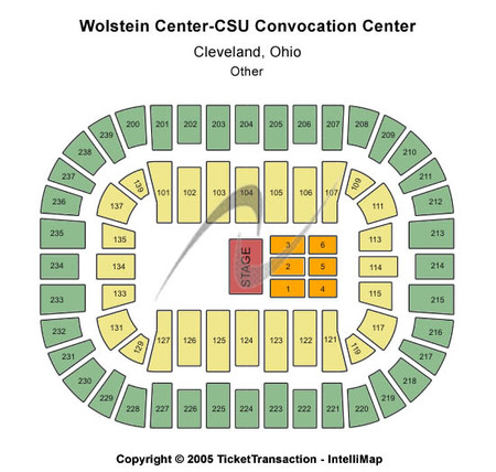 Wolstein Center - Csu Convocation Center