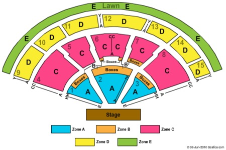 Xfinity Center Tickets Xfinity Center In Mansfield Ma At